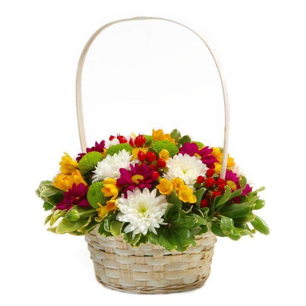Cesto de Flores-0