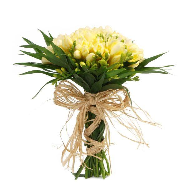Bouquet de Frésias Amarelas-0