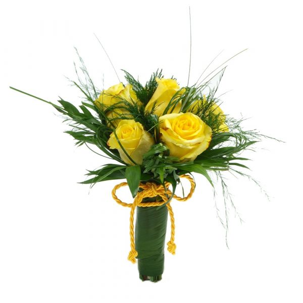 Bouquet Rosas Amarelas-0
