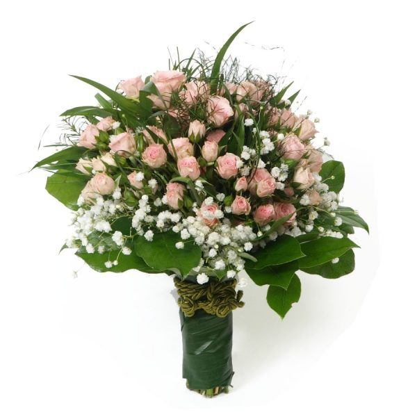 Bouquet Rosas Santa Teresinha-0