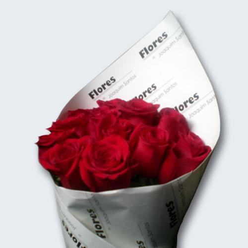 Especial Dia dos Namorados: Ramo de 12 Rosas Vermelhas-158