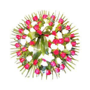 Coroa Fúnebre com Rosas-0