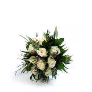 Bouquet de Rosas Brancas-0