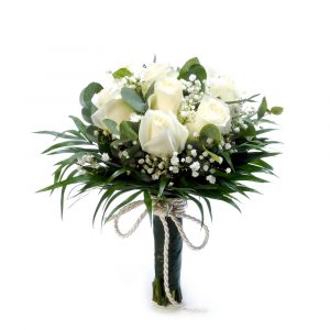 Bouquet White Roses-0