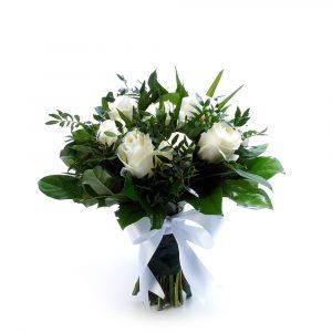 Ramo White Roses-0