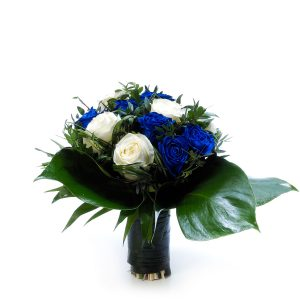 Bouquet Blue&White-0