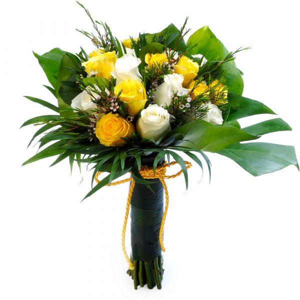 Ramo Yellow Roses-0